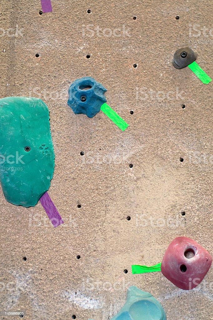 Climbing Holds royalty-free stock photo