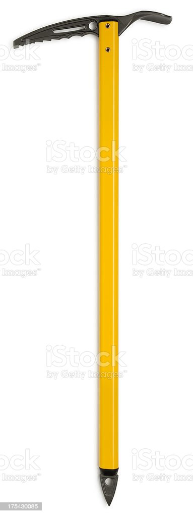 Climbing Ice Axe on White stock photo