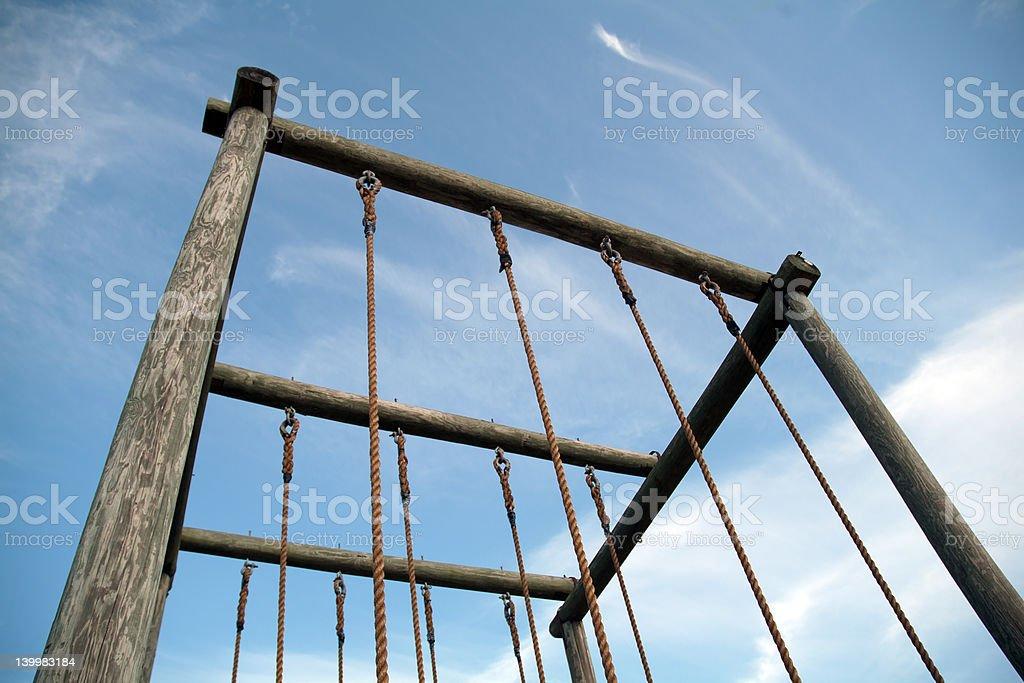 Climbing Ropes 03 royalty-free stock photo