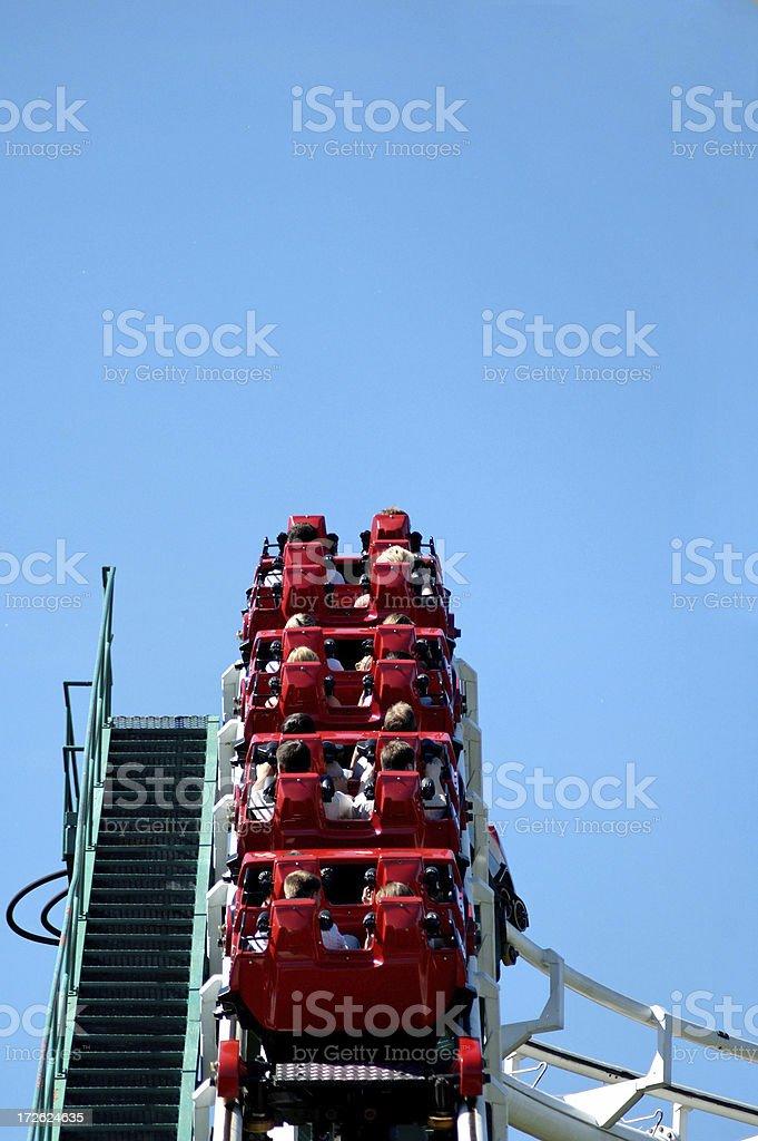 Climbing up royalty-free stock photo