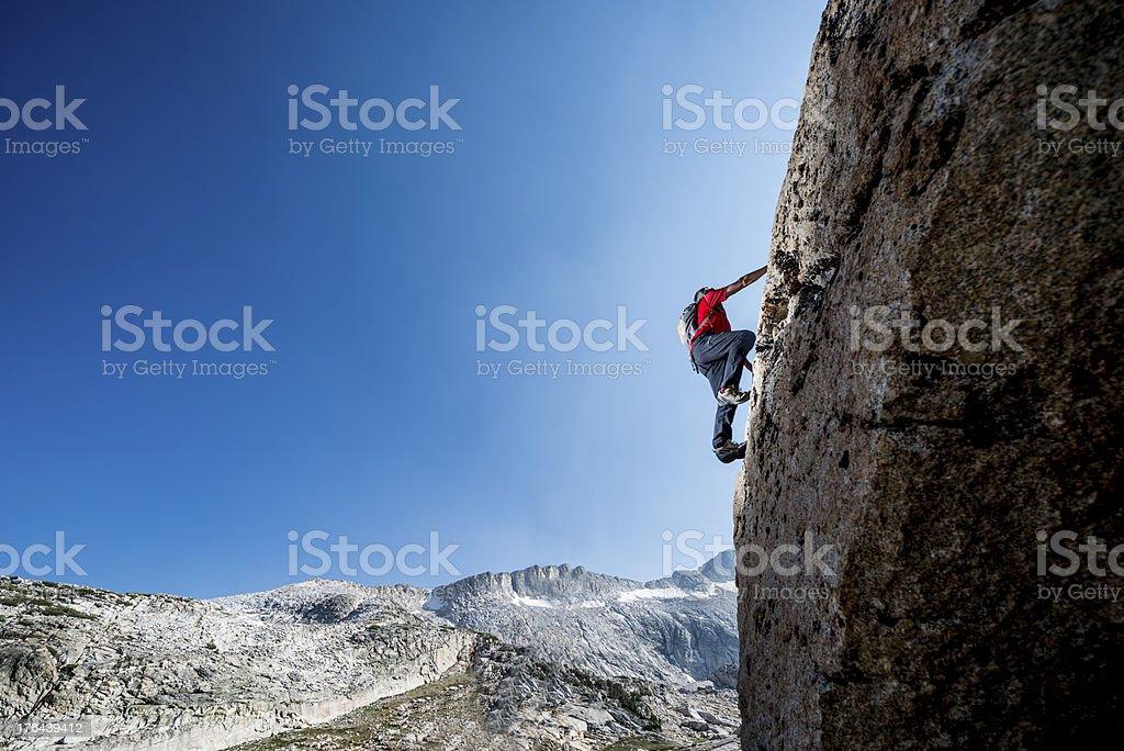 climbing up stock photo