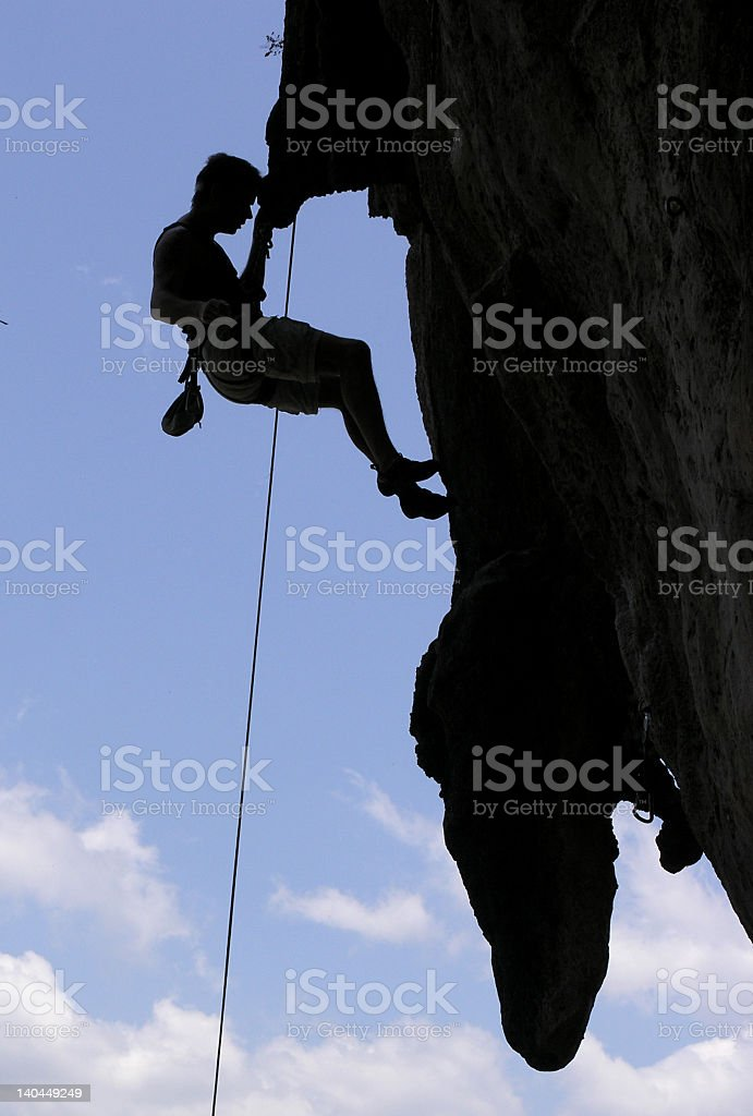 climing stock photo