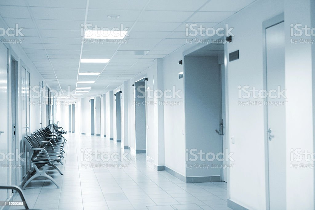 Clinic interior stock photo
