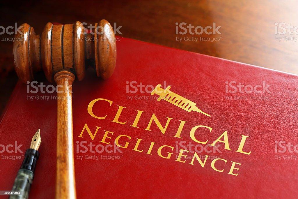 Clinical Negligence stock photo