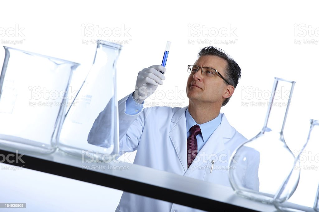 Clinical Research and Development royalty-free stock photo