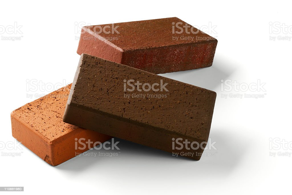 Klinker bricks royalty-free stock photo
