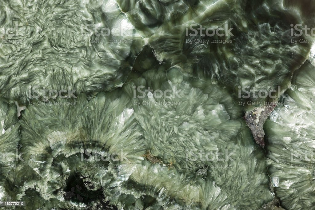 Clinochlore texture close-up royalty-free stock photo