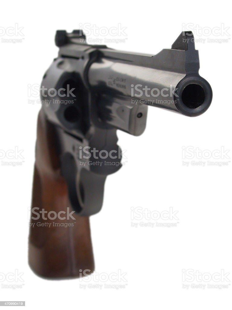 Clint Eastwood's gun - 357 Magnum royalty-free stock photo