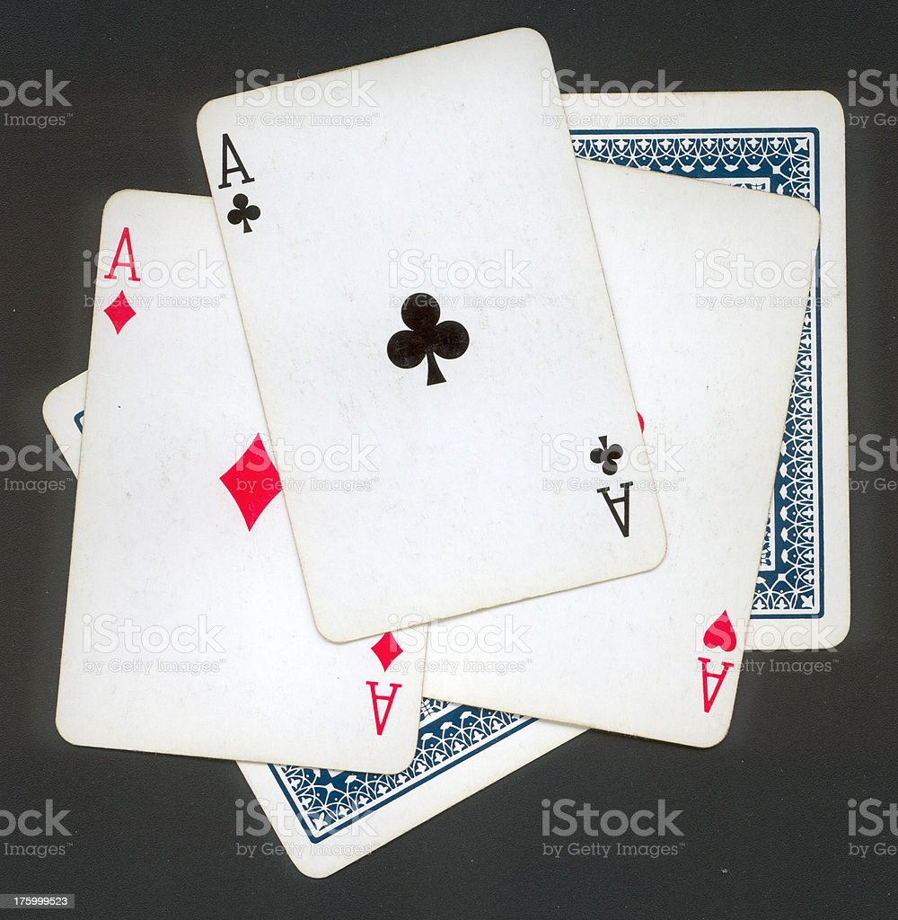 clip pathed pile of cards royalty-free stock photo