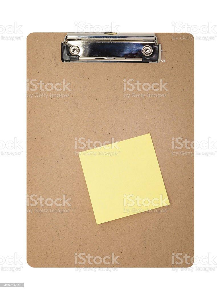 Área de transferência-simples e em branco foto royalty-free