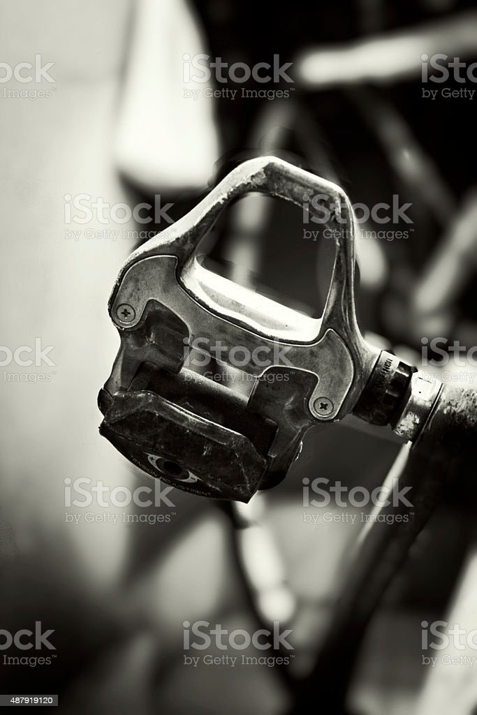 Clipless Pedal royalty-free stock photo