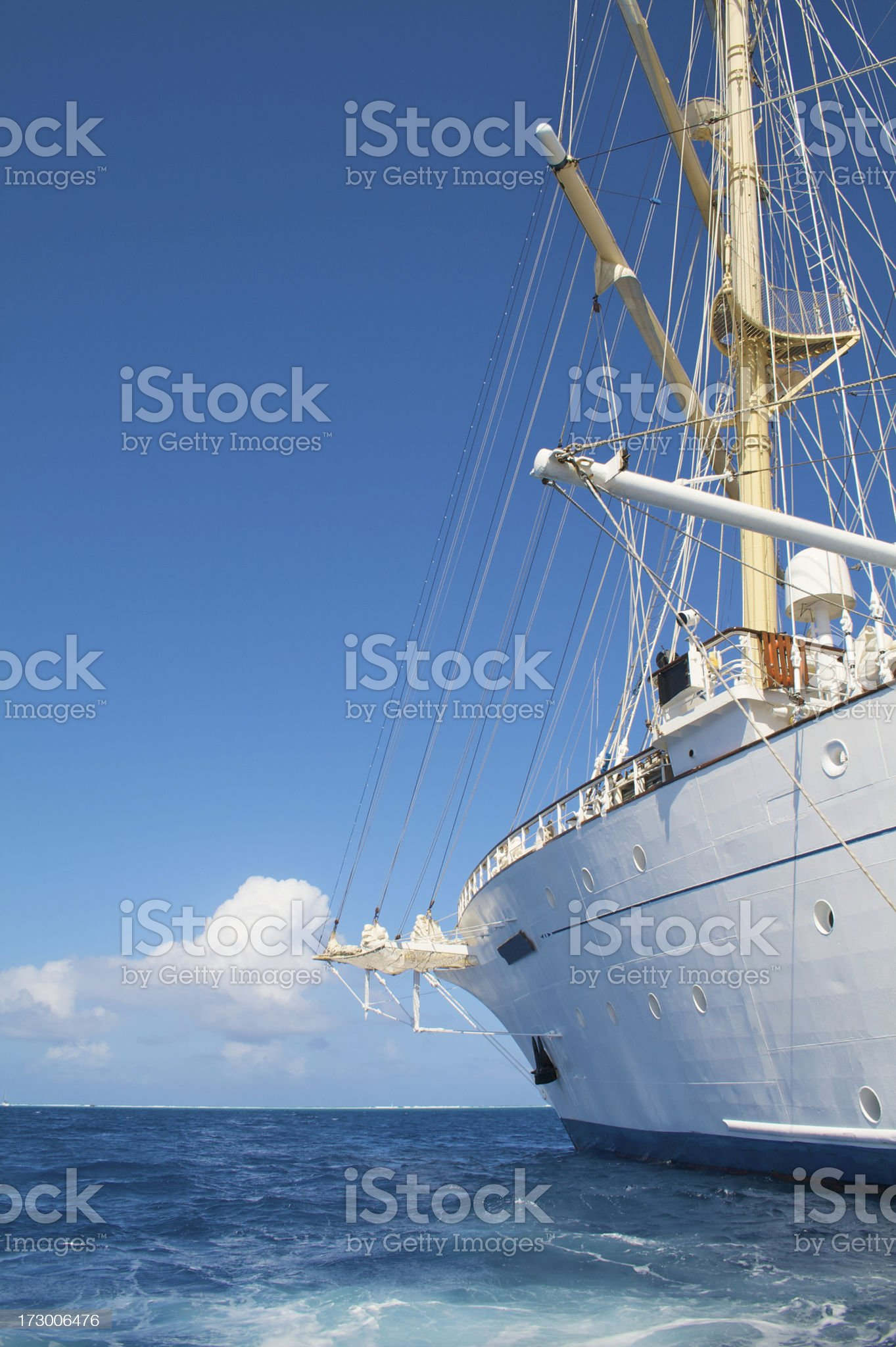 Clipper royalty-free stock photo