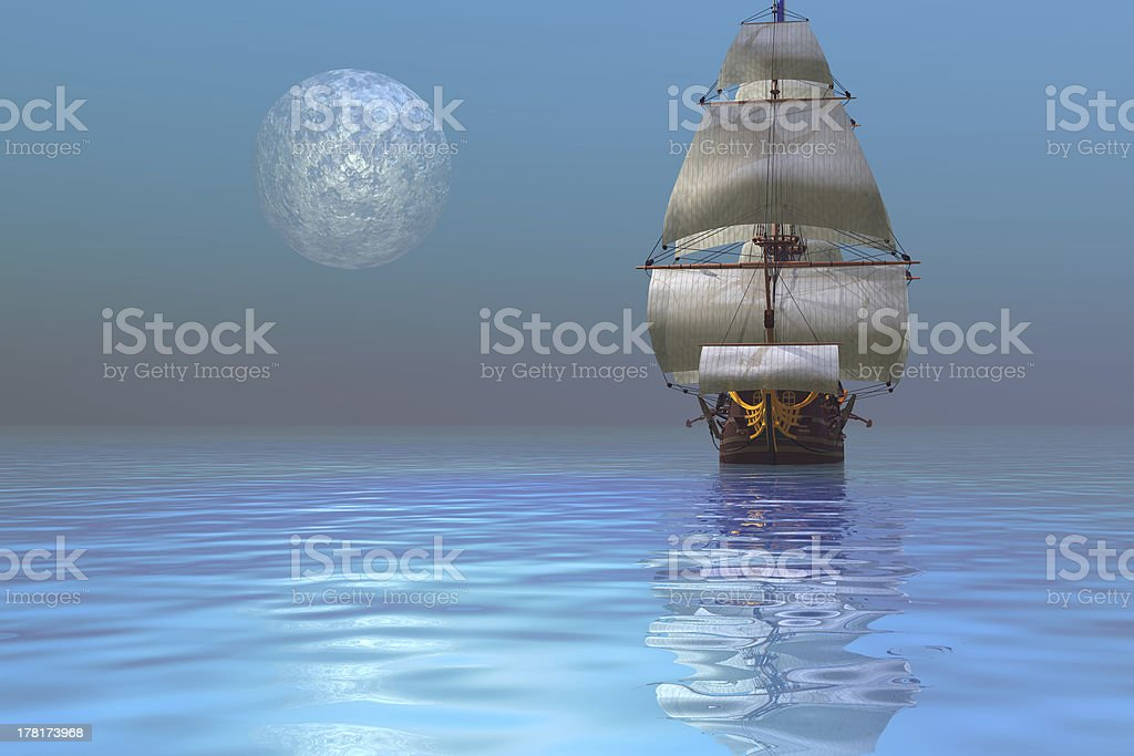 Clipper Ship stock photo