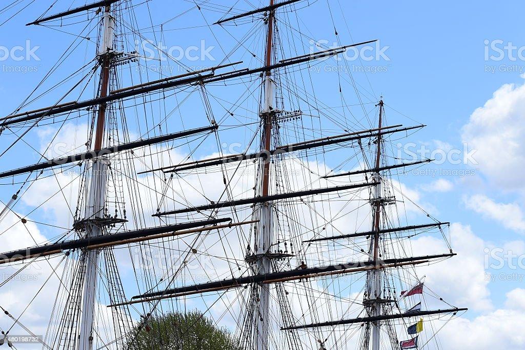 Clipper Ship stock photo