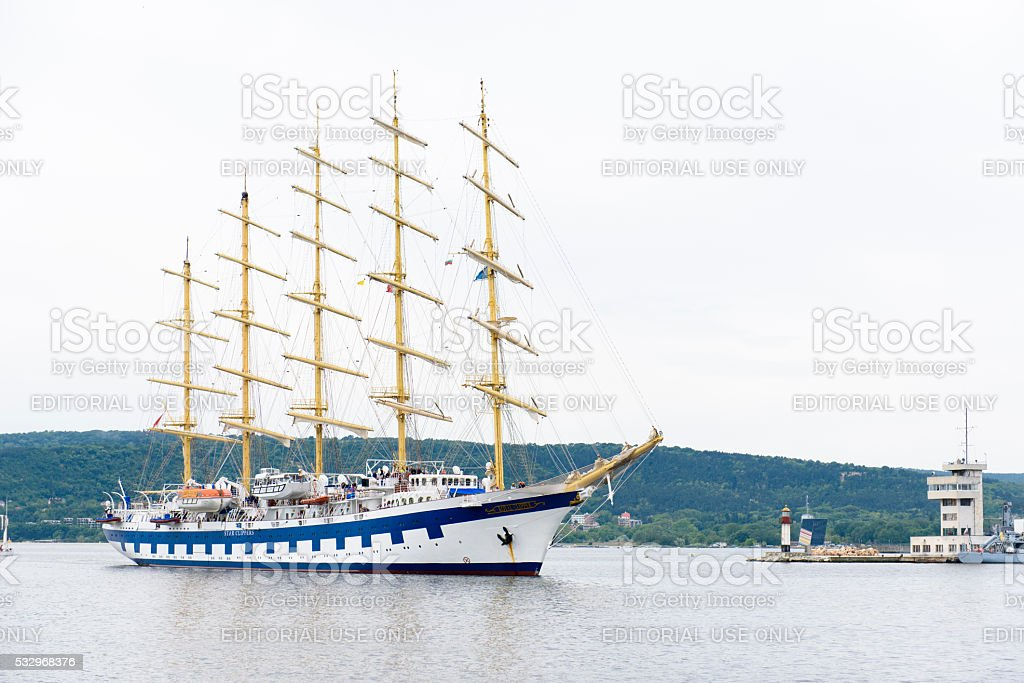 Clipper - starboard side stock photo