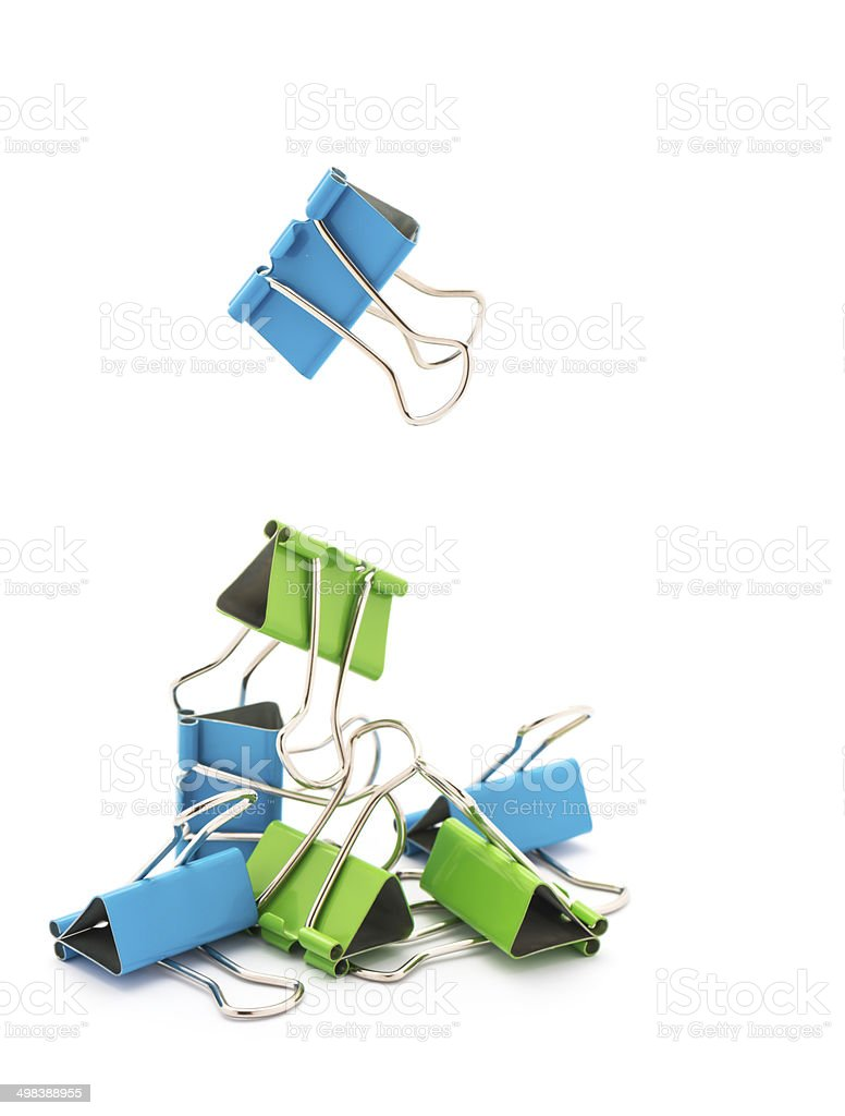 Clips. stock photo