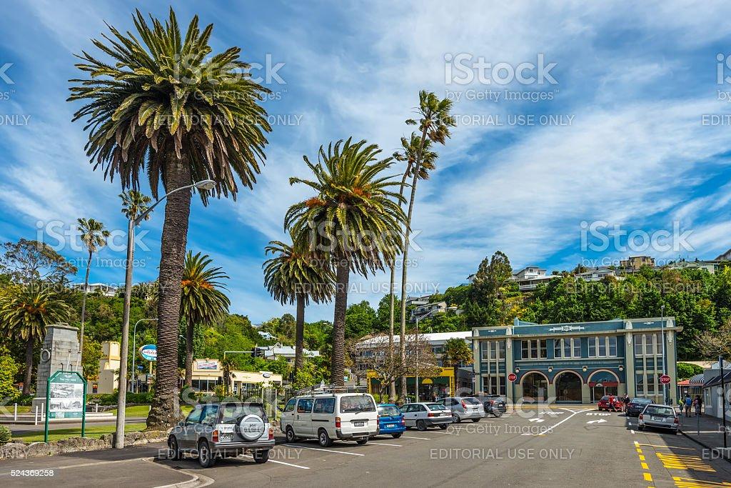 Clive Square - Napier, New Zealand stock photo