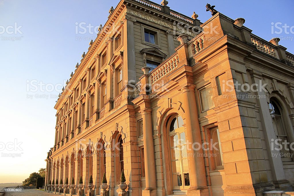 clivedon house stately home england royalty-free stock photo
