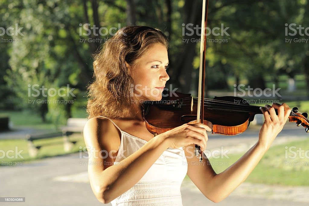 cllassical musician stock photo