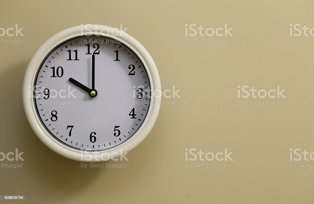 Clock 10:00 foto de stock libre de derechos