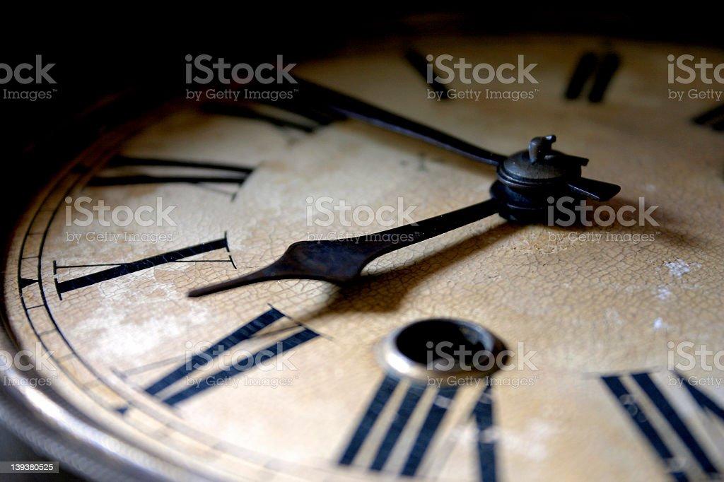 Clock 3 stock photo