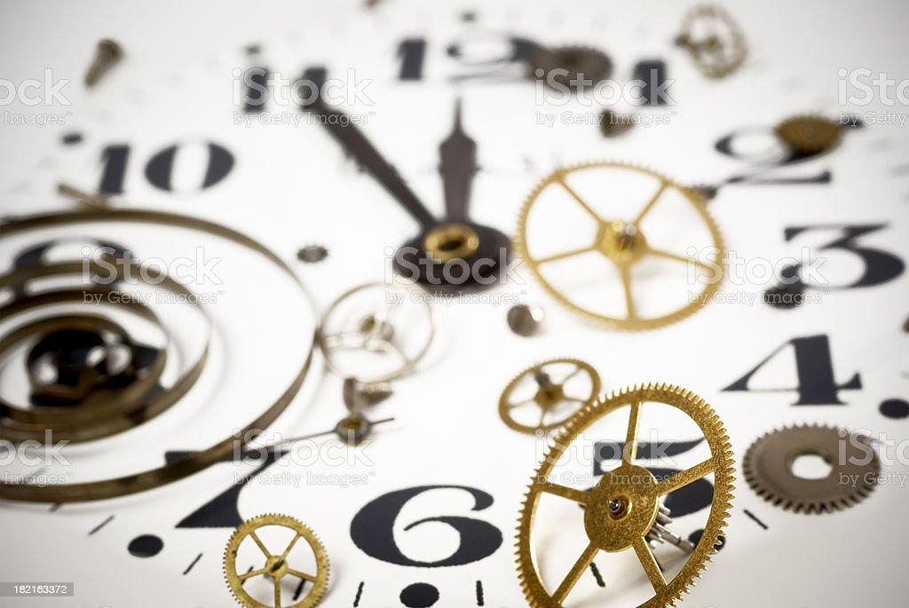 Clock background royalty-free stock photo