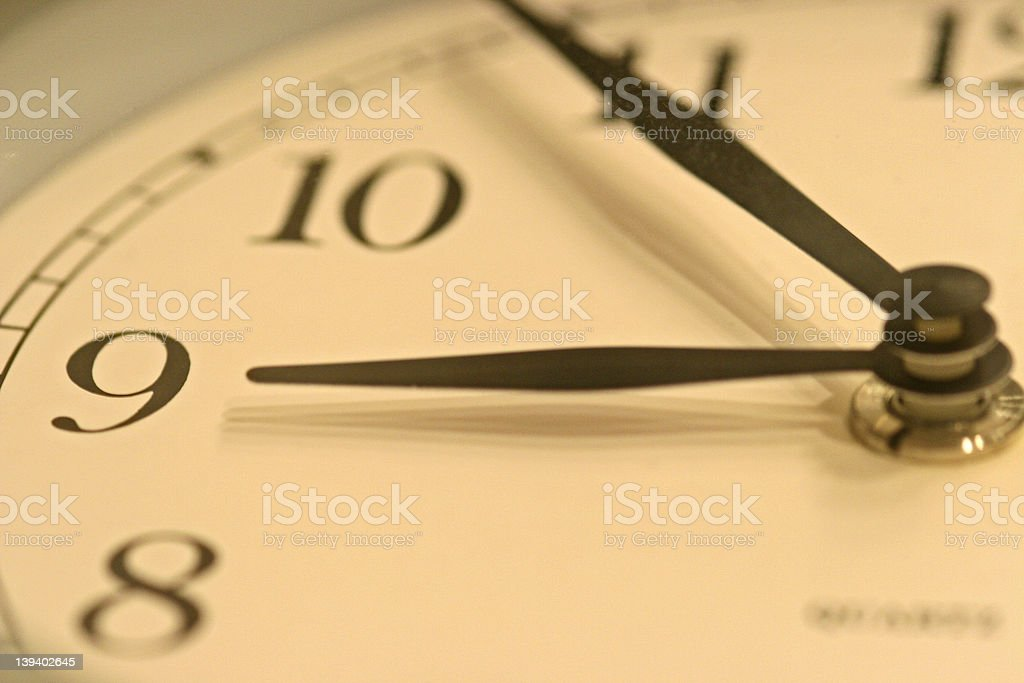 clock closeup royalty-free stock photo