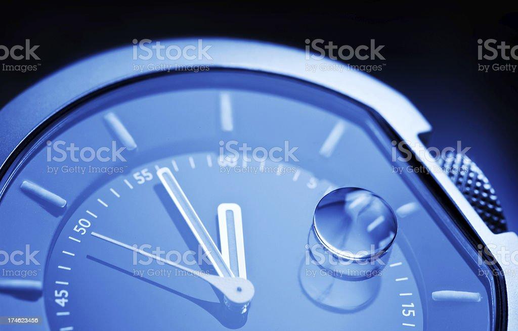 Clock Detail royalty-free stock photo
