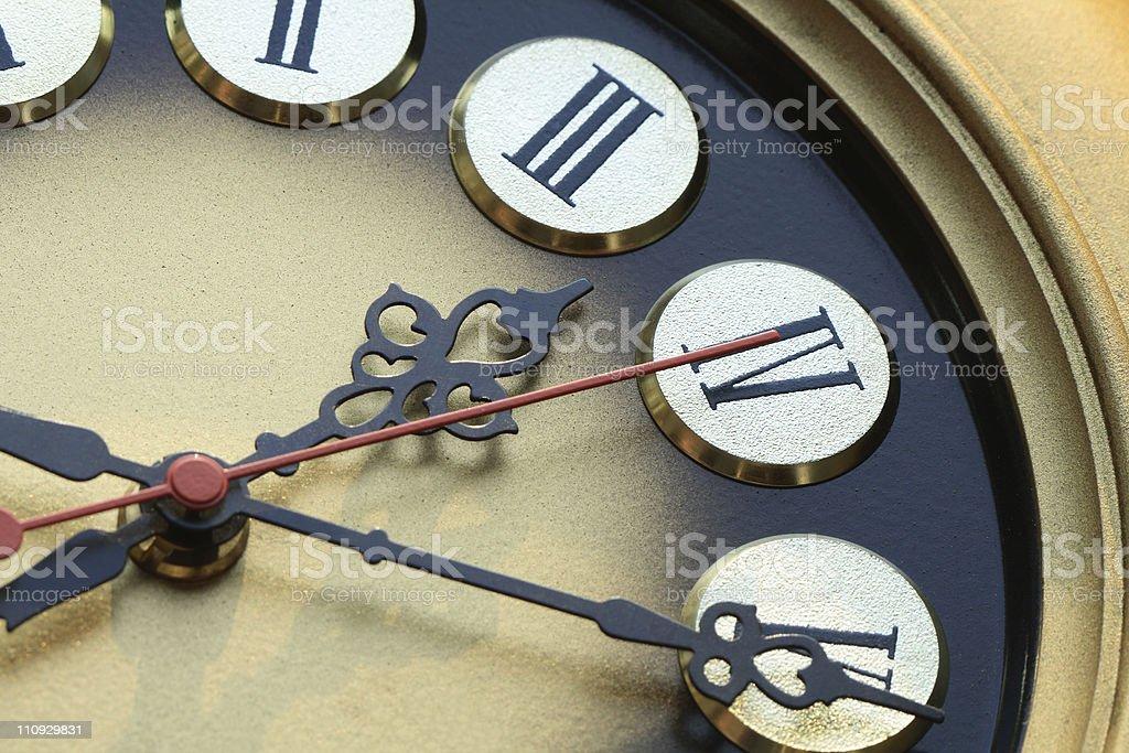 Clock Dial stock photo
