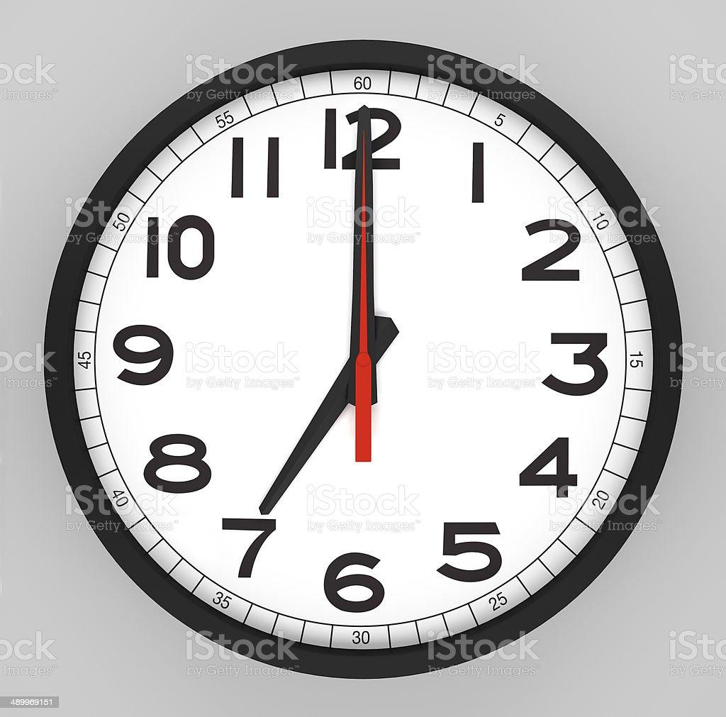 worksheet Face Of A Clock clock face 4 oclock stock photo 490309527 istock 7 oclock