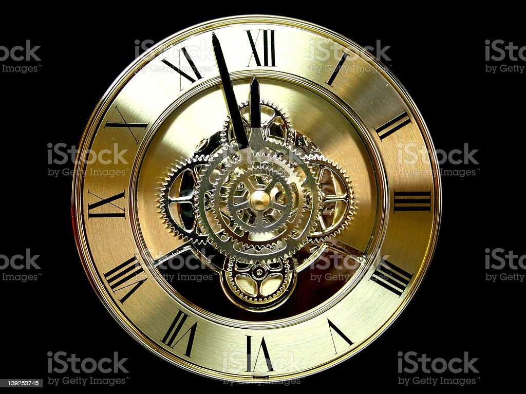Clock Face royalty-free stock photo