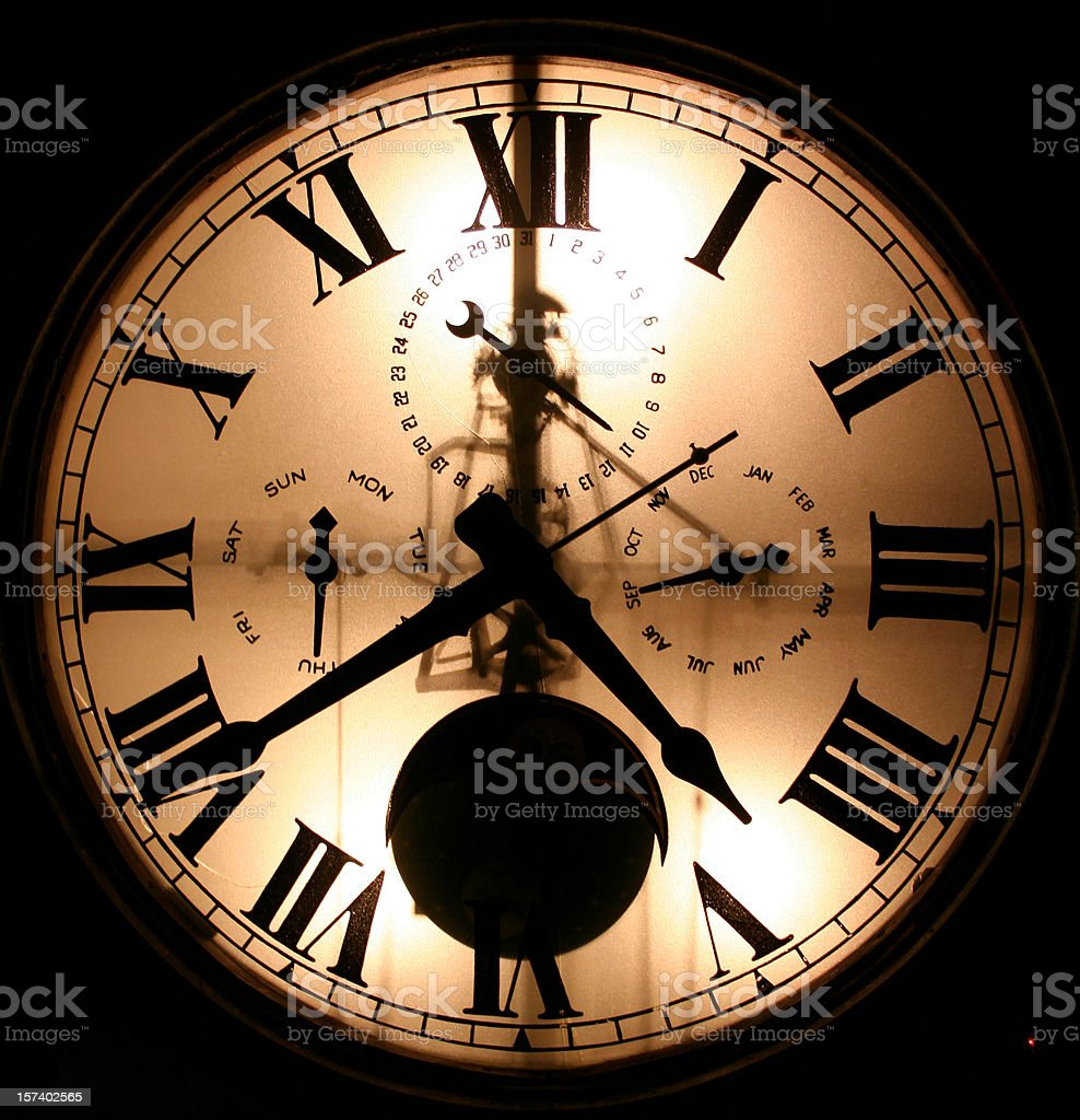 Clock Face stock photo