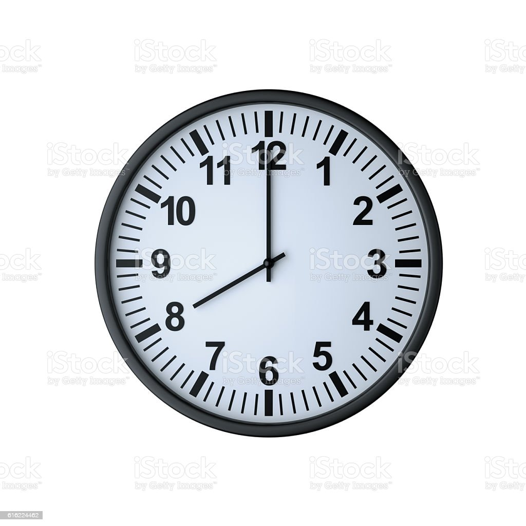 clipart 8 o'clock - photo #46