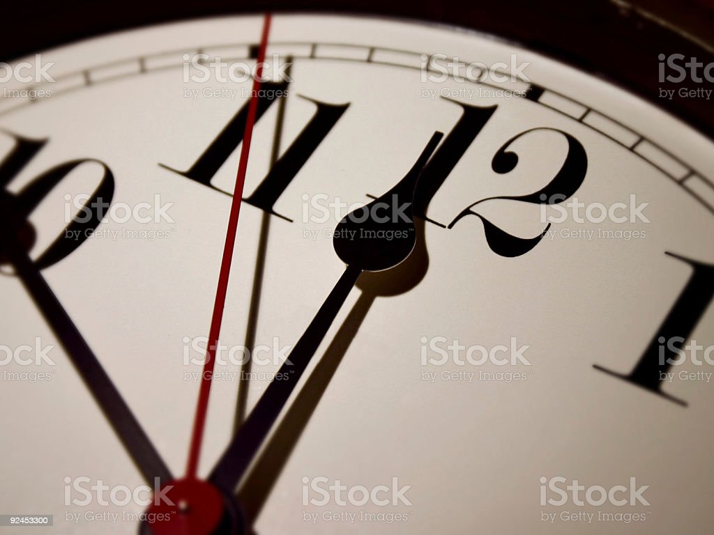 Clock Face Time royalty-free stock photo