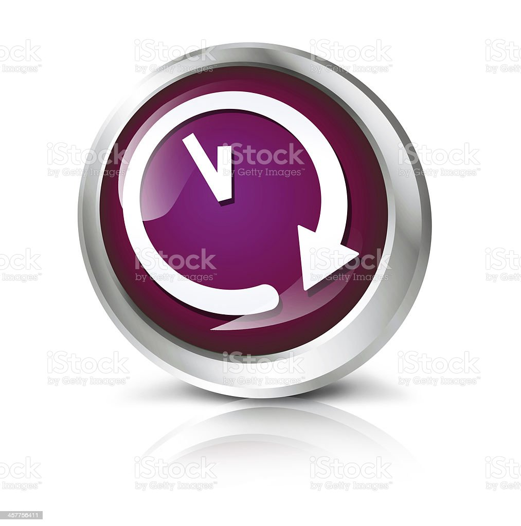 clock icon stock photo