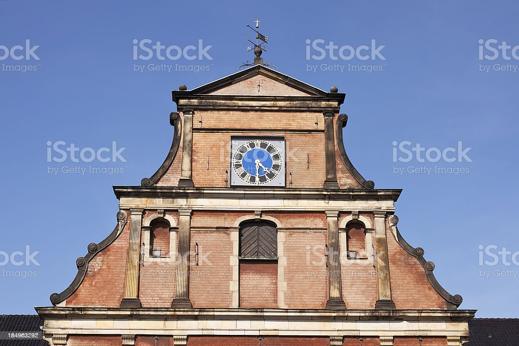Clock of holmen church royalty-free stock photo
