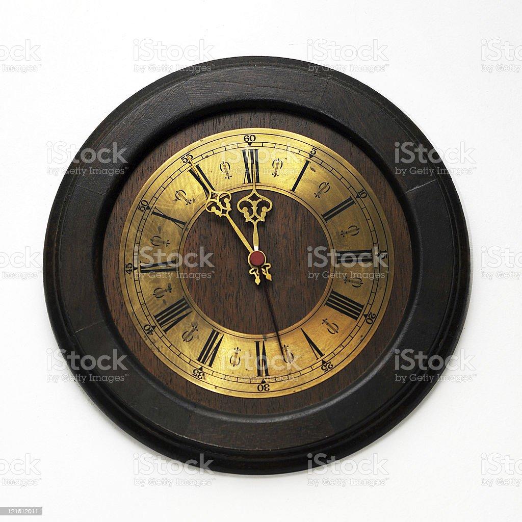 Clock on Wall stock photo