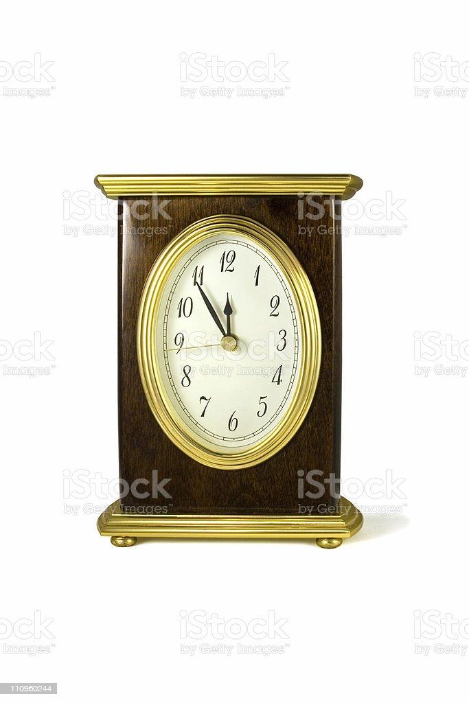 Clock. royalty-free stock photo