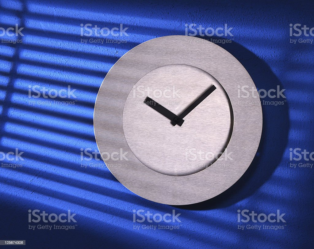 Orologio foto stock royalty-free
