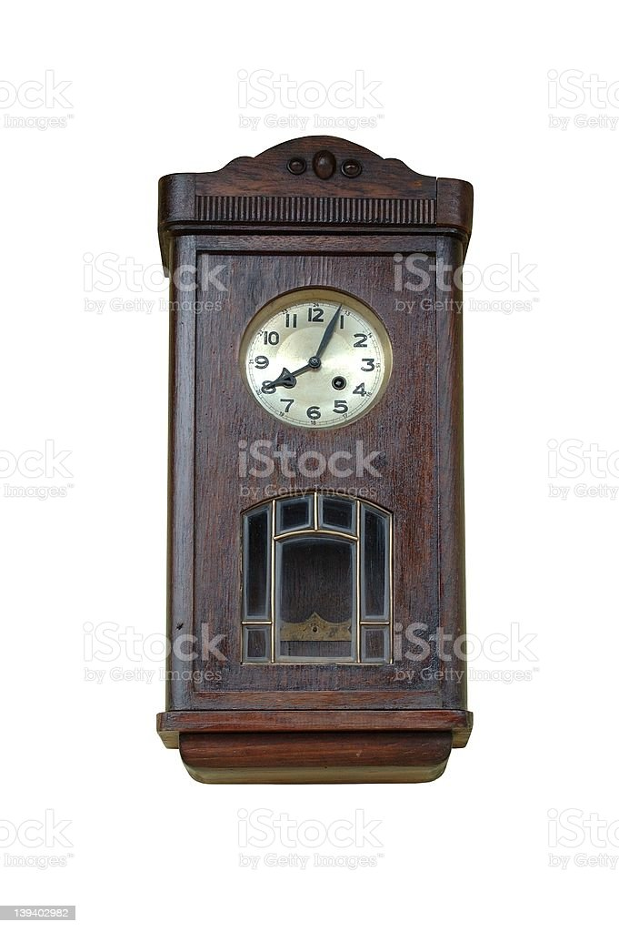 Clock royalty-free stock photo
