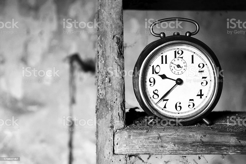 Clock stock photo