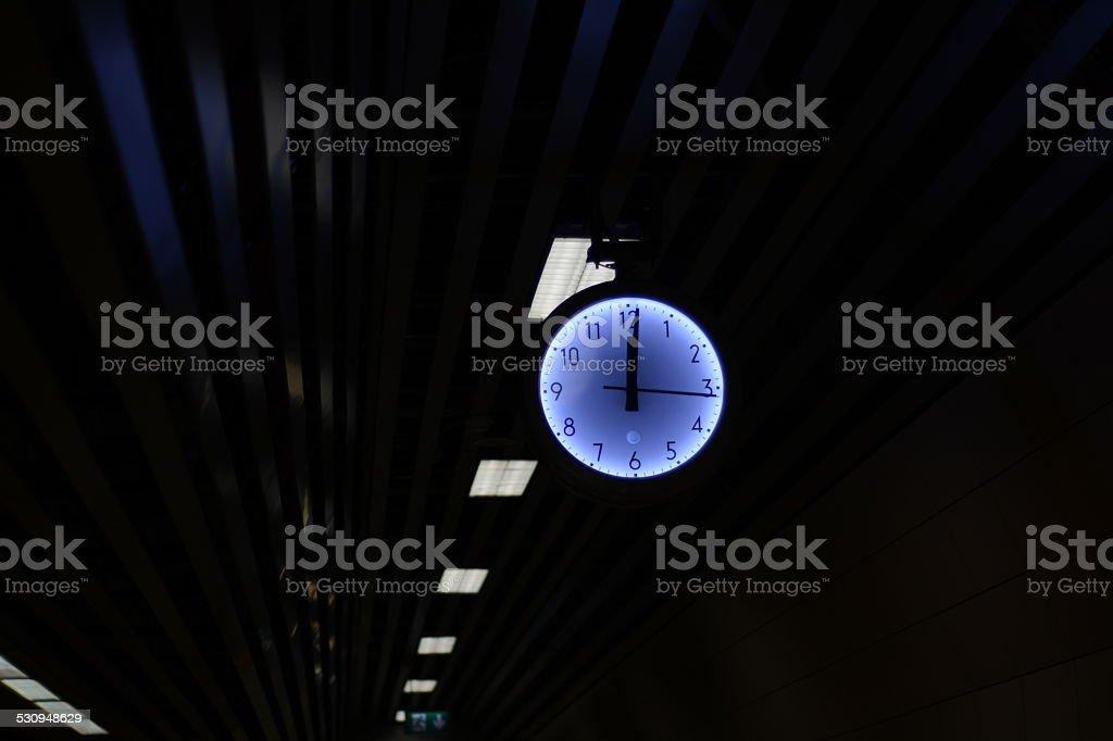 Reloj despertador foto de stock libre de derechos