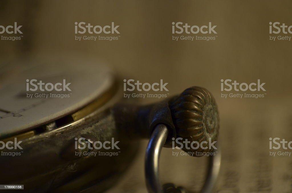Clock pormenor royalty-free stock photo