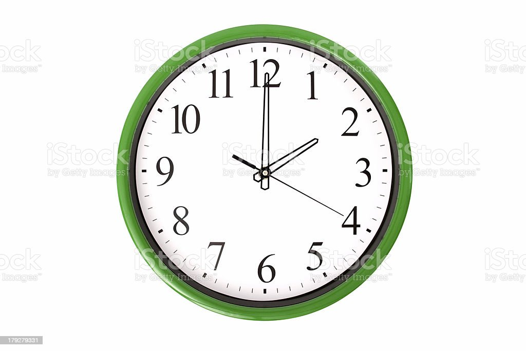 Clock serie - 2 o'clock stock photo