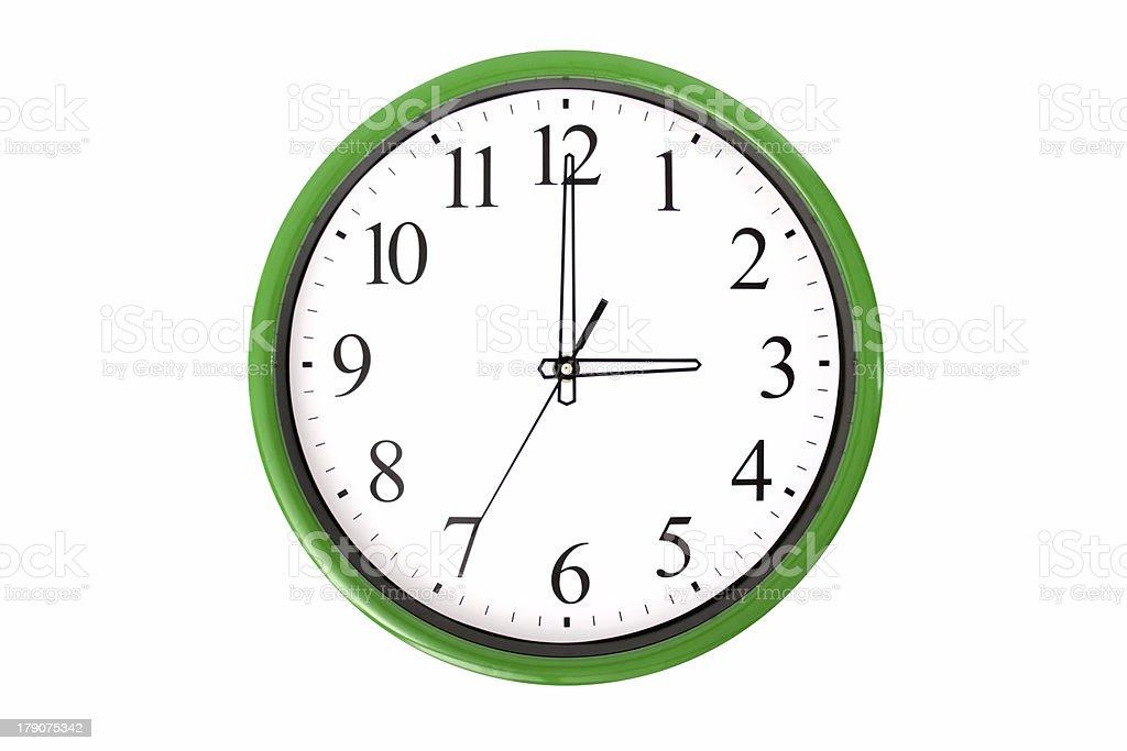 Clock serie - 3 o'clock stock photo