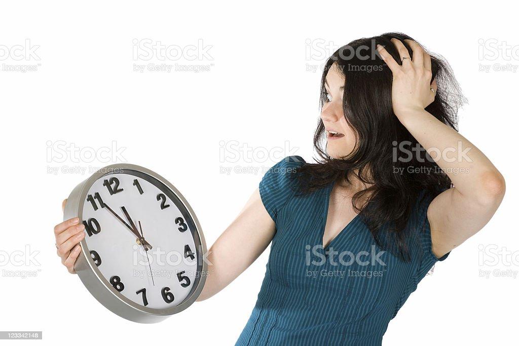 Clock Series royalty-free stock photo