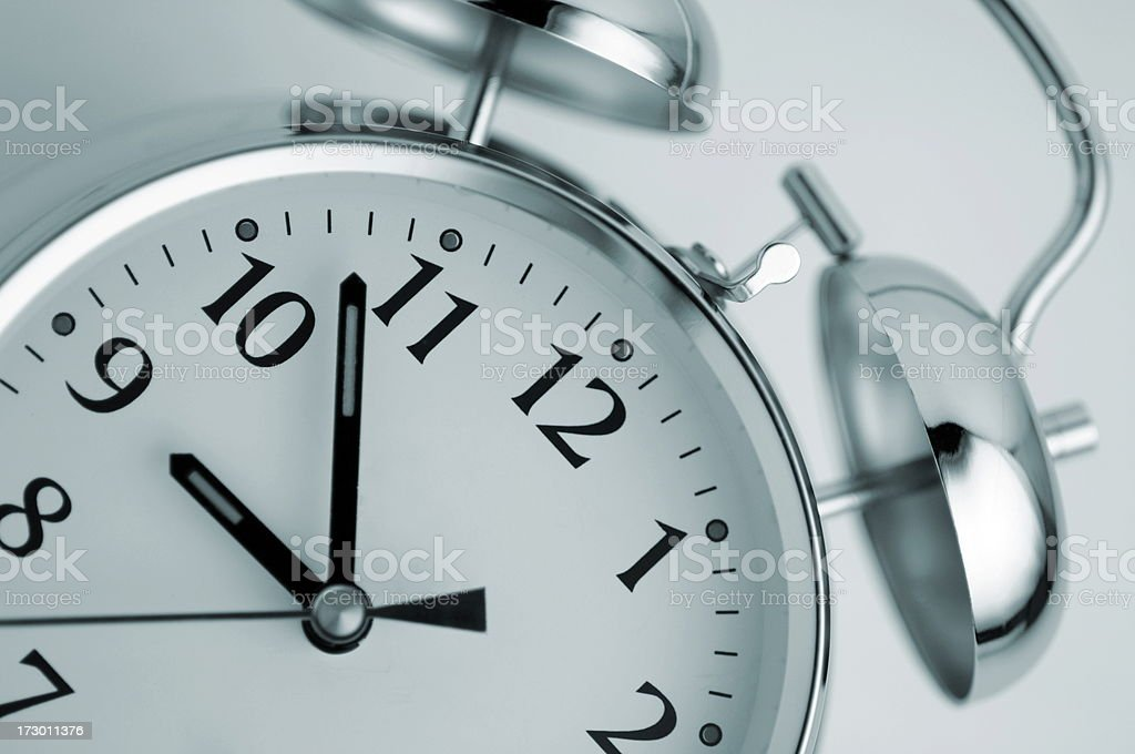 clock series royalty-free stock photo