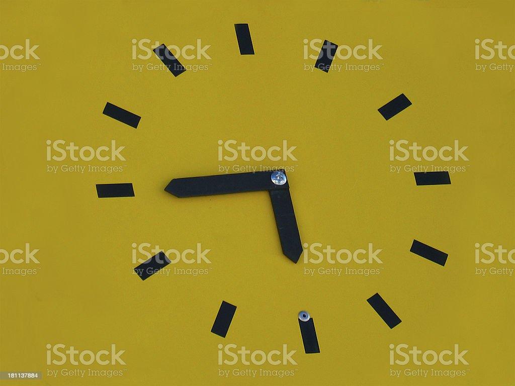 clock sign royalty-free stock photo