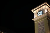 Clock Tower at night