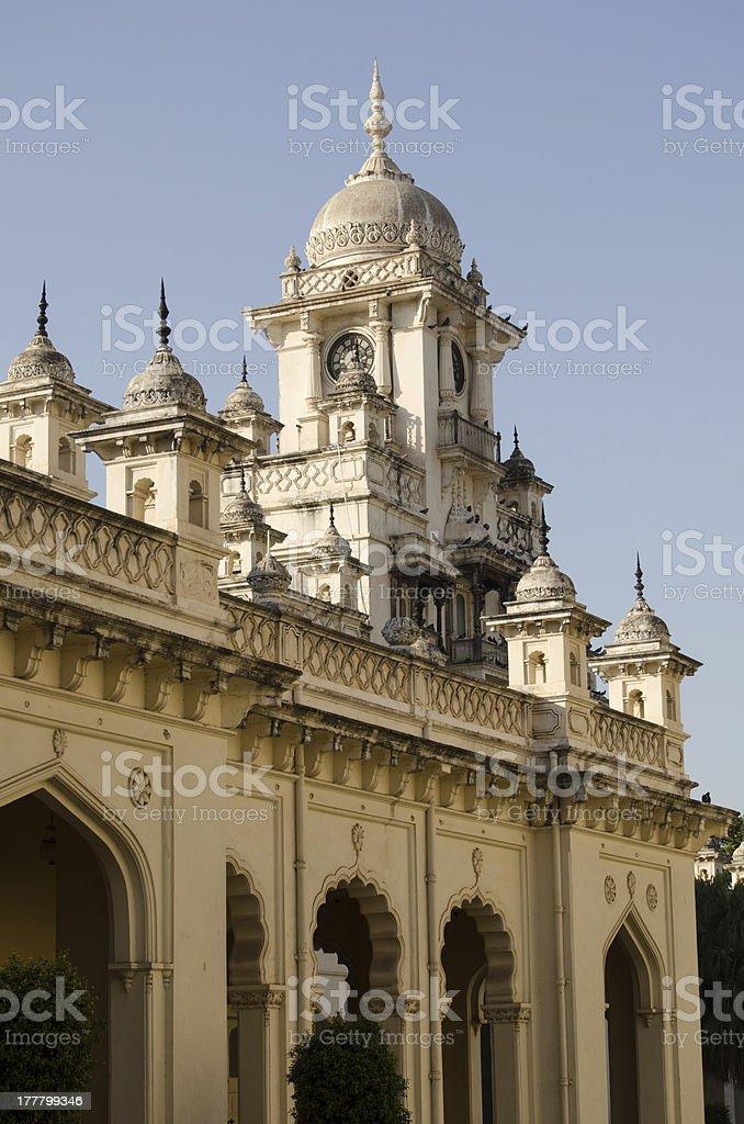 Clock tower, Chowmahalla Palace stock photo